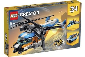 LEGO Dubbel-rotor helikopter - 31096