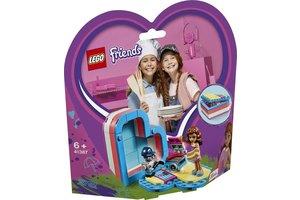 LEGO Olivia's hartvormige zomerdoos - 41387