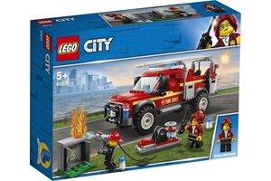 LEGO Reddingswagen van brandweercommandant - 60231
