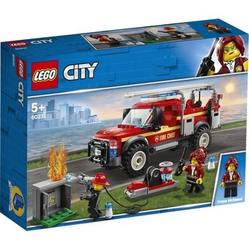 LEGO LEGO City Reddingswagen van brandweercommandant - 60231