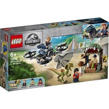 LEGO LEGO Jurassic World Dilophosaurus ontsnapt - 75934