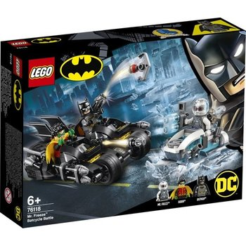LEGO LEGO Batman Mr. Freeze Het Batcycle-gevecht - 76118