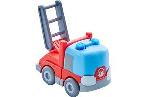 Haba Ladderwagen (auto met vliegwielmotor) voor kogelbaan rollebollen