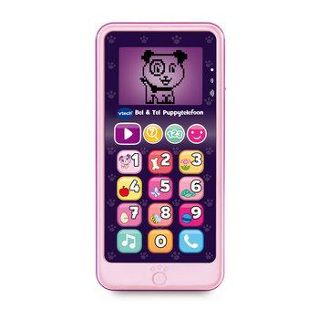 VTech VTech Bel & Tel Puppytelefoon roze
