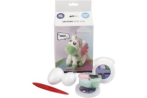 Creotime Silk Clay Funny Friends - Unicorn Baby Bibi