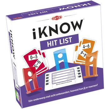 Tactic Tactic iKNOW Hit List Triviantspel Kinderen
