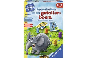 Ravensburger Apenstreken in de getallenboom