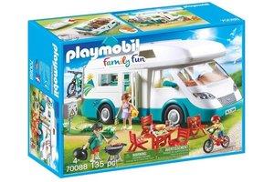 Playmobil Mobilhome met familie - 70088