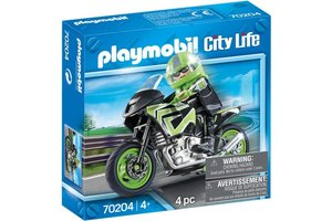 Playmobil Motorrijder - 70204