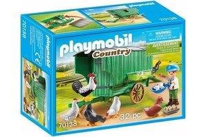 Playmobil Kind met kippenhok - 70138