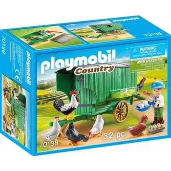 Playmobil Kind met kippenhok - 70138
