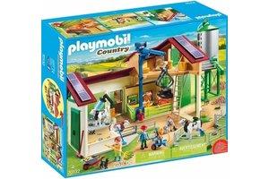 Playmobil Boerderij met silo en dieren - 70132