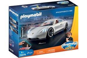 Playmobil THE MOVIE Rex Dasher's Porsche Mission E - 70078