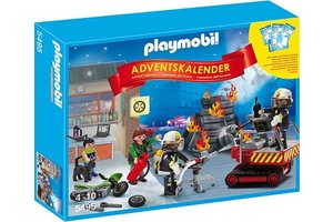 "Playmobil Adventskalender ""Brandweer"""