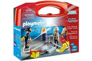 Playmobil Fire Rescue meeneemkoffer