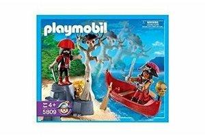 Playmobil Piratenboot met doodskop-boom