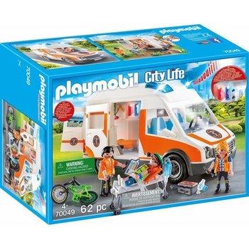 Playmobil Ambulance en ambulanciers - 70049