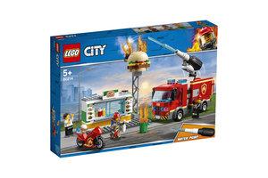 LEGO Brand bij het hamburgerrestaurant - 60214