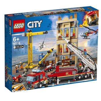 LEGO LEGO City Brandweerkazerne in de stad - 60216