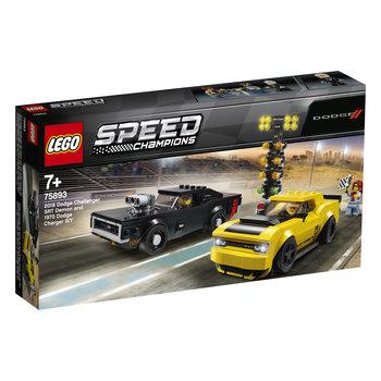 LEGO LEGO Speed Champions 2018 Dodge Challenger SRT Demon en 1970 Dodge Charger R/T - 75893