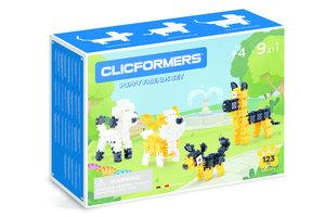clicformers Puppy Friends Set 9-in-1 (123stuks)