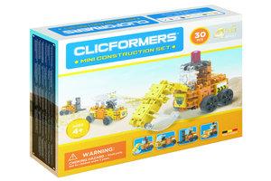 clicformers Mini Bouw Set 4-in-1 (30stuks)