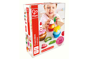 Hape Cupcakes (hout) - 18-delig