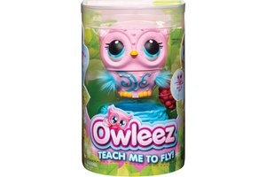 Spin Master Owleez Vliegende Babyuil Roze