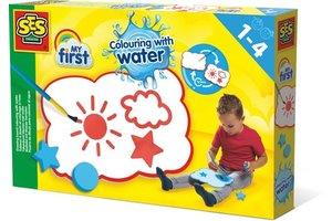 SES Creative Tekenbord kleuren met water