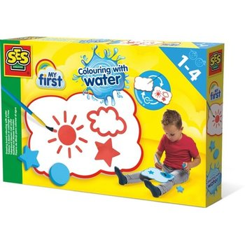 SES Tekenbord kleuren met water