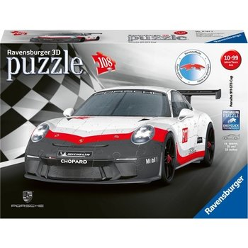 Ravensburger 3D Puzzel (108stuks) - Porsche GT3 Cup