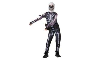 Kostuum Fortnite Tween Skull Trooper jumpsuit