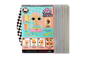 MGA Entertainment OMG Styling Head Neonlicious