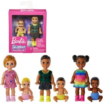 Mattel Barbie Sitter Sibling Pack  GFL30