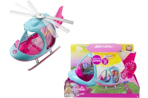 Mattel Barbie Helicopter - FWY29