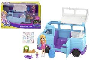 Mattel Polly Pocket Camper Van - FTP74