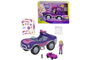 Mattel Polly Pocket Adventure Buggy