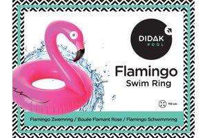 Didak Pool Flamingo Swim Ring Didak - 110cm