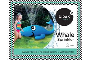 Didak Pool Whale Sprinkler - 110x45cm