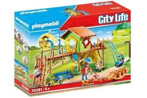 Playmobil PM City Life - Avontuurlijke speeltuin 70281