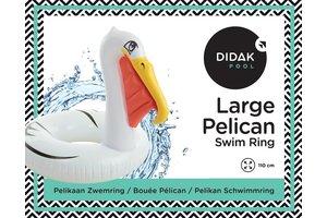 Didak Pool Large Pelican Swim Ring Didak - 110cm
