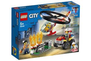 LEGO Brandweerhelikopter reddingsoperatie - 60248