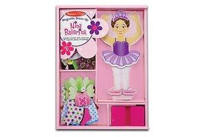 magnetic dress-up nina balerina