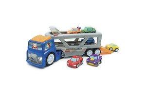 Keenway Super Car Transporter met 6 voertuigen