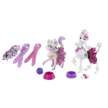 Mattel barbie modesprookje dieren