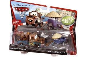 Mattel cars2: takel & maestro zen