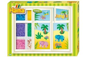 Hama Strijkkralen Hama box jungle 2400 st