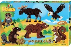 Hama Strijkkralen HAMA woodland 6000st