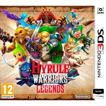 3DS Hyrule Warriors Legends