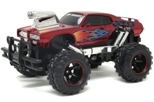 "New Bright R/C Off-Road Truck ""Muscle"" - oranje"